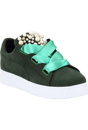 Ayakkabı - Haki - Zenneshoes