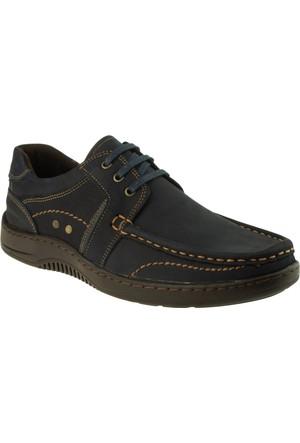 Alisolmaz 303 Saraçlı Bağli Lacivert Erkek Ayakkabı