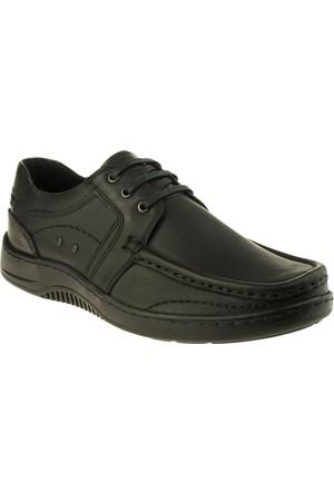 Alisolmaz 303 Saraçlı Bağli Siyah Erkek Ayakkabı