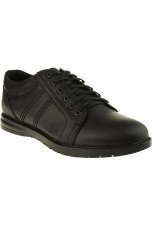 Alisolmaz 407 Bağli Comfort Siyah Erkek Ayakkabı