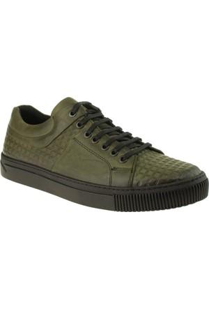 Alisolmaz 6757 Bağli Casual Haki Erkek Ayakkabı