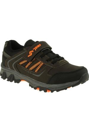Jump 14182 Tek Cırt Kahverengi Çocuk Ayakkabı