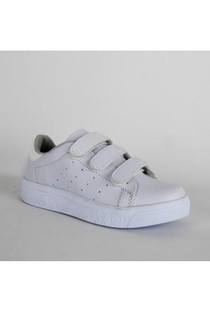 Black Sea 503 Bayan Günlük Ayakkabı Beyaz