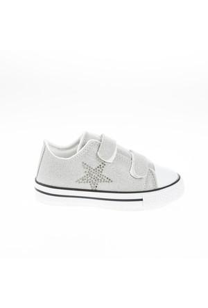 Soobe Kız Çocuk Sneakers Ayakkabı Taş