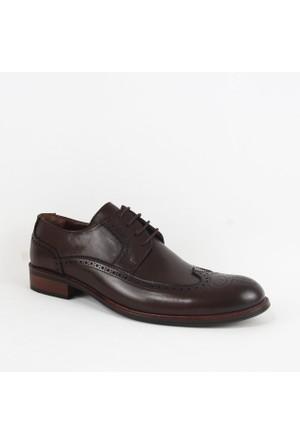 Armanc 354 Erkek Bağcıklı Klasik Ayakkabı Kahverengi