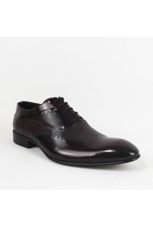 Armanc 355 Erkek Bağcıklı Klasik Ayakkabı Bordo