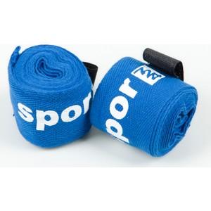 spor724 boks-kickboks spor bandajı elastik bob1 - mavi