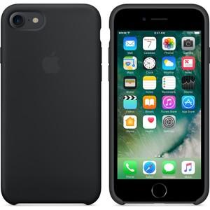 apple iphone 8 - iphone 7 silikon kılıf - siyah - mmw82zm a apple türkiye garantili