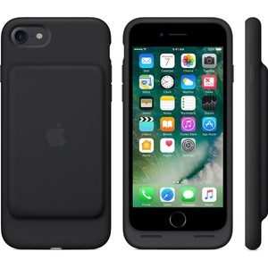 apple iphone 8 - iphone 7 smart battery kılıf - siyah - mn002tu a apple türkiye garantili