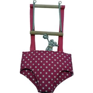 atlantis oyuncak sağlıklı ahşap hoppala zıp zıp - bebek yürüteci pembe
