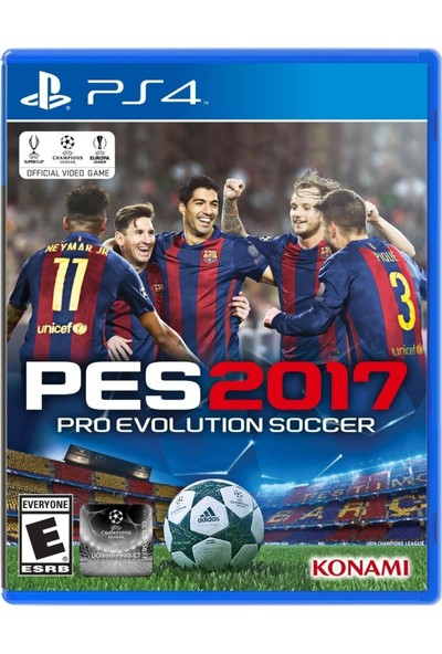 Pes 2017 Türkçe Menü PS4 Oyun