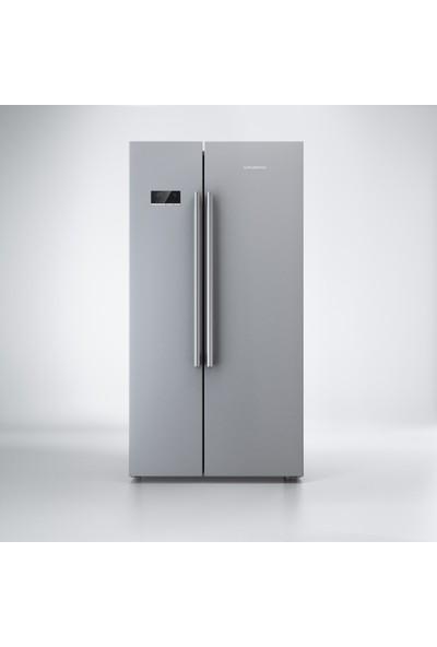 Grundig GSND 6282 S A+ 655 lt No-Frost Buzdolabı