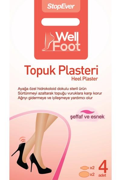 Stopever Well Foot Topuk Plasteri-Steril Ve Tekli
