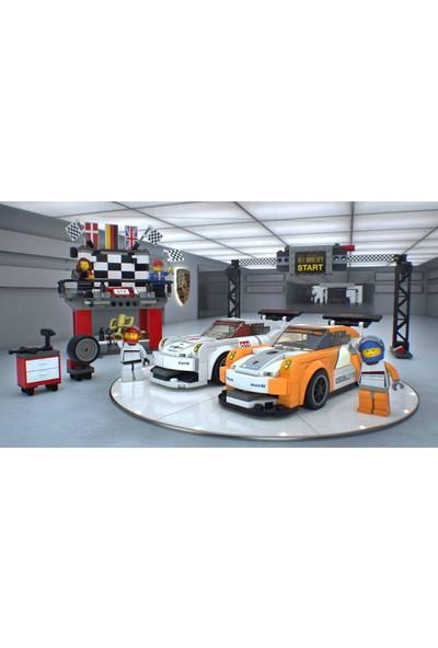 LEGO Speed Champions 75912 Porsche 911 GT Bitiş Çizgisi