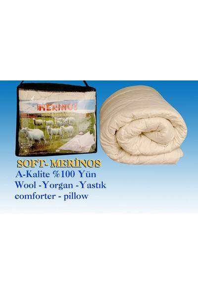 Soft Merinos Wool Tek Kişilik Yün Yorgan