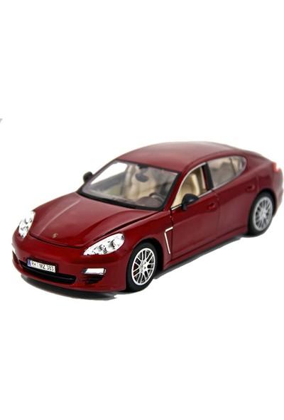 Porsche Panamera 1:18 Model Araba, Kırmızı