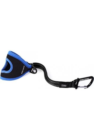 Ezydog Handy Leash Carabiner Eller Serbest Köpek Kayışı Mavi