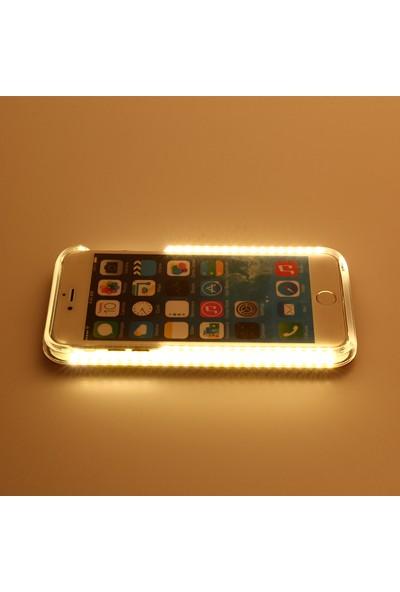 Komo Design iPhone 6 Siyah Işıklı Selfie Kılıfı