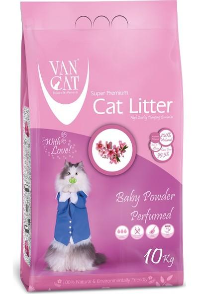 Vancat Baby Powder Kokulu İnce Taneli Kedi Kumu 10 Kg