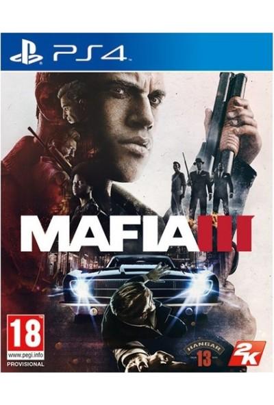 Mafia 3 III PS4 Oyun