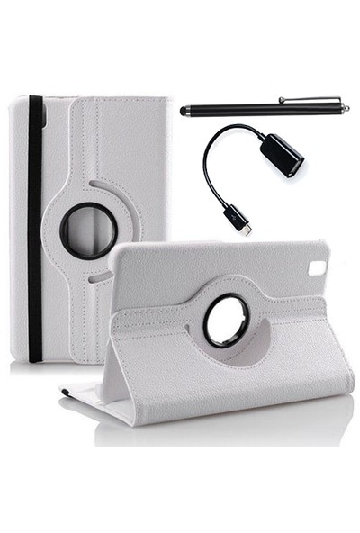 Mobilburda Samsung Galaxy Tab Pro 8.4 T320 360° Stand Kılıf