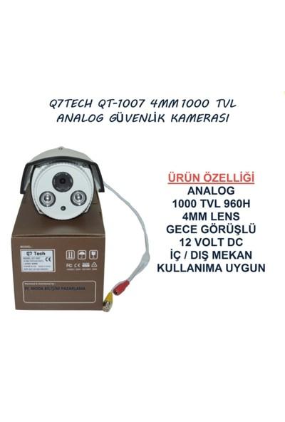 Q7 Tech 1000 TVL Analog Güvenlik Kamerası Gece Görüşlü