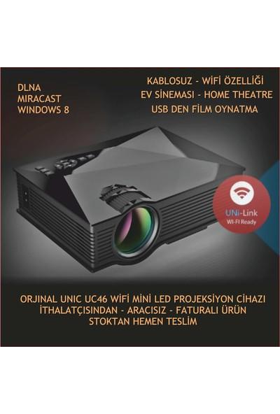 Dowlab Unic Uc46 Kablosuz Led Projeksiyon Cihazı