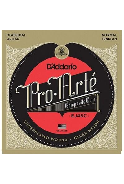 D'Addario EJ45C Pro-Arte Composite Normal Tension Klasik Gitar Teli