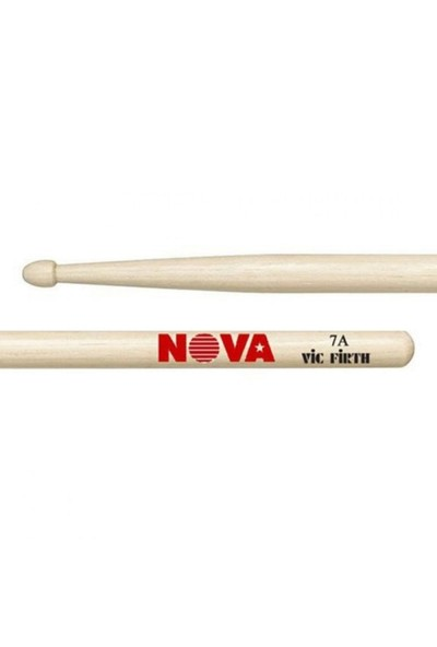 Vicfirth N7A Baget (Çift) Nova 7A Bateri Çubuğu Wood