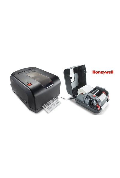 Honeywell PC42t USB + Seri + Ethernet Barkod Yazıcı