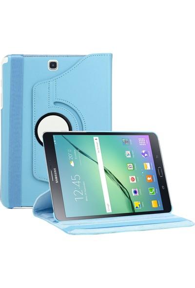 Samsung Galaxy Tab Note P600 360 Dönebilen Mavi Stand Kılıf