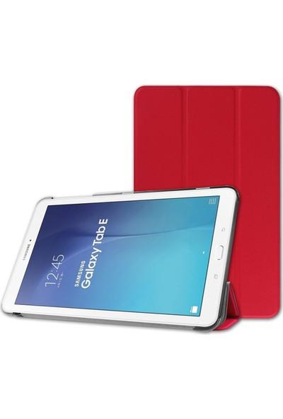 Samsung Galaxy Tab A6 T580 10.1 Standlı Kılıf Kırmızı(Smartcase)
