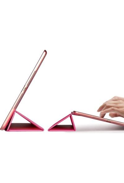 İpad Pro 9,7 İnç Smart Case Standlı Kılıf Pembe