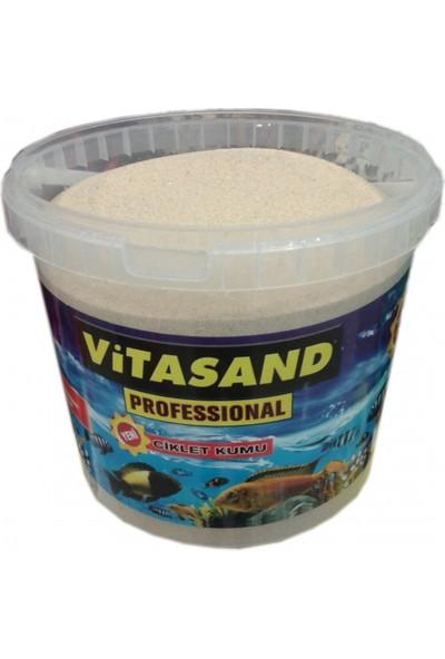 Vitasand Pro-78 Yıkanmış Akvaryum Kumu Silis Kum 8,5kg