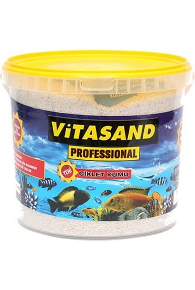Vitasand Yıkanmış Akvaryum Ciklet Kumu Kalsiyum Karbonatlı 8,5kg