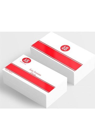 BuldumBuldum Kartvizit Tasarımları Model 13 - 350 Gr Mat Kuşe 1000 Adet Standart Kartvizit