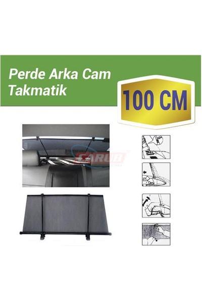 Carub Güneşlik Arka Cam 100Cm 2Li Çubuk
