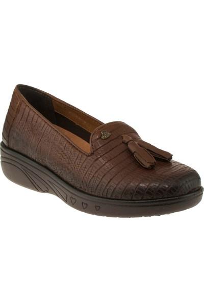 Venüs 6114 Mini Feta Taba Kadın Ayakkabı