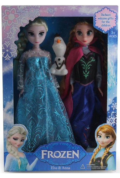 Disney Frozen Elsa Ve Anne Bebek Seti