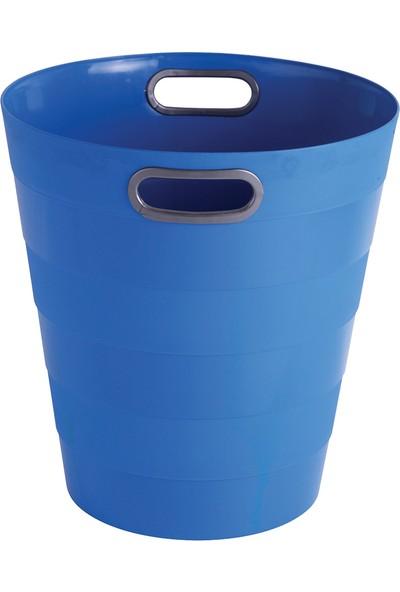 Ark Çöp Kovası Mavi 285 Mm X 300 Mm