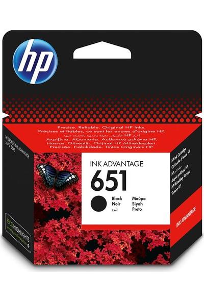 HP 651 Siyah Mürekkep Kartuşu C2P10AE