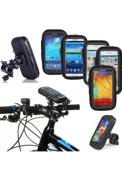 Motorsiklet Bisiklet Telefon Tutucu Su Geçirmez Tam Uyum