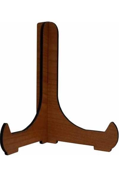 Bk Ahşap Teşhir Ayağı 12 cm (ceviz)