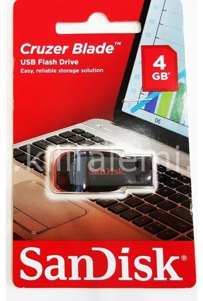 Sandisk Sandisk 4Gb Usb Flash Bellek