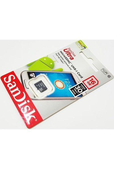 Sandisk 16Gb Micro Hafıza Kartı