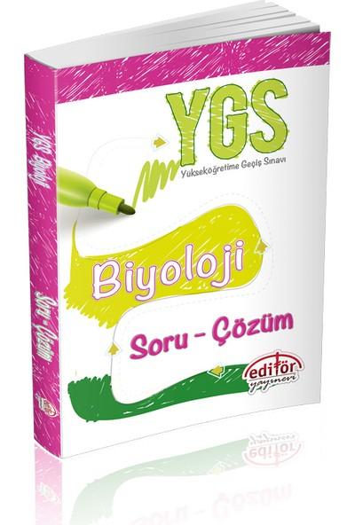 Editör Yayınları Ygs Biyoloji Soru Cevap