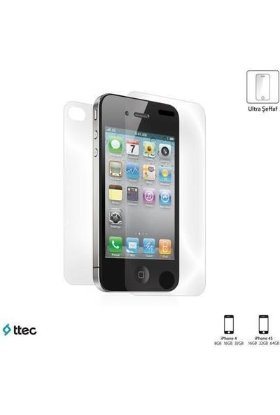 Ttec 2Eku2001 Iphone 4-4S Ultra Şeffaf Çift Yönlü