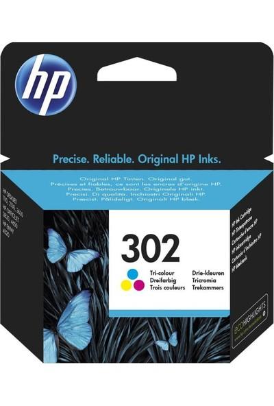 Hp 302 Renkli Mürekkep Kartuşu F6U65Ae