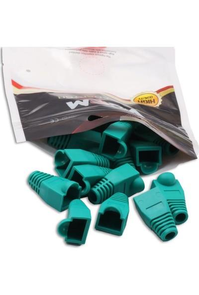 Vcom Nm001 Yeşil Rj-45 Kapak 20Li Paket