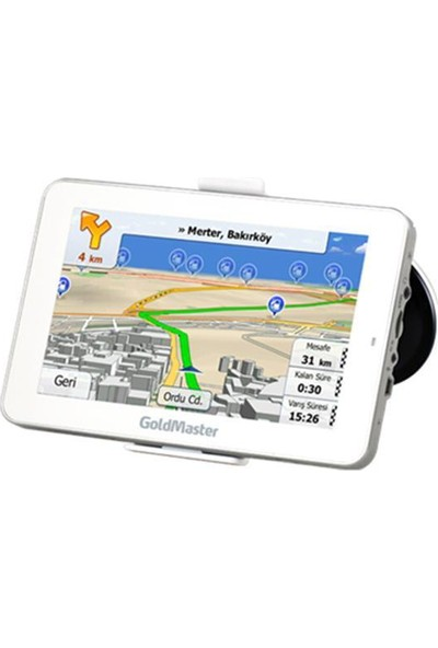 "Goldmaster Nav-705 7"" 4Gb + 128Mb Navigasyon"